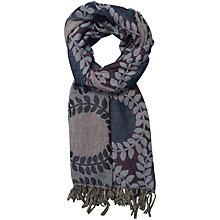 Buy Seasalt Awakening Huckleberry Shawl, Purple Online at johnlewis.com