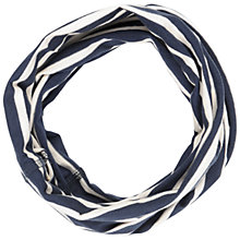 Buy Seasalt Striped Handyband Scarf, Navy Online at johnlewis.com