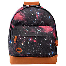 Buy Mi-Pac Cosmos Print Backpack, Multi Online at johnlewis.com