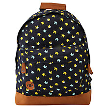 Buy Mi-Pac Repeat Bird Print Backpack, Navy Online at johnlewis.com