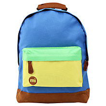 Buy Mi-Pac Mini Colour Block Backpack, Multi Online at johnlewis.com