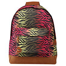 Buy Mi-Pac Hot Zebra Backpack, Multi Online at johnlewis.com