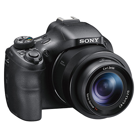 "Buy Sony Cyber-shot DSC-HX400 Smart Bridge Camera, HD 1080p, 20.4MP, 50x Optical Zoom, Wi-Fi, NFC, GPS,  3"" LCD Screen with 8GB Memory Card Online at johnlewis.com"
