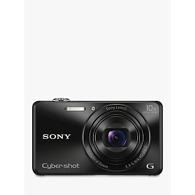 "Sony Cybershot DSCWX220 Camera HD 1080p 18.2MP 10x Optical Zoom WiFi NFC 2.7"" Screen"