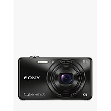 "Buy Sony Cyber-shot DSC-WX220 Camera, HD 1080p, 18.2MP, 10x Optical Zoom, Wi-Fi, NFC, 2.7"" Screen with Memory Card Online at johnlewis.com"