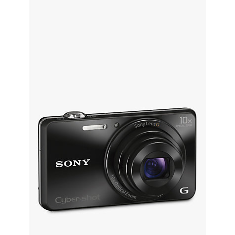 "Buy Sony Cyber-shot DSC-WX220 Camera, HD 1080p, 18.2MP, 10x Optical Zoom, Wi-Fi, NFC, 2.7"" Screen Online at johnlewis.com"