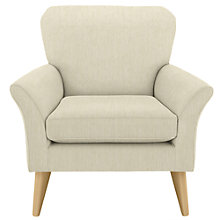 Buy John Lewis Carrie Armchair, Odney White Online at johnlewis.com