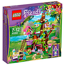 Buy LEGO Friends Jungle Tree Sanctuary Online at johnlewis.com
