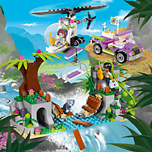 Buy LEGO Friends Jungle Bridge Rescue Online at johnlewis.com