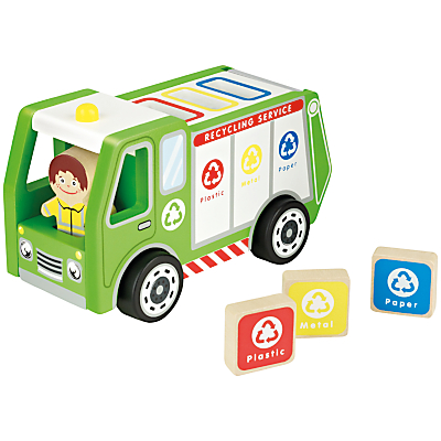John Lewis Wooden Recycling Lorry