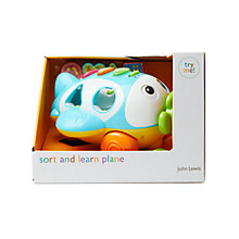 Buy Sort & Learn Pull-Along Plane Online at johnlewis.com