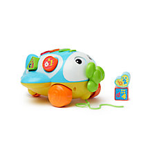 Buy John Lewis Sort & Learn Pull-Along Plane Online at johnlewis.com