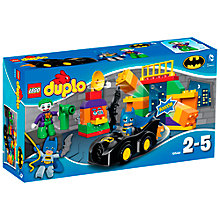 Buy LEGO DUPLO Superheroes The Joker Challenge Online at johnlewis.com