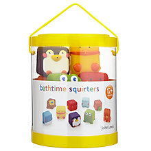 Buy John Lewis Bathtime Squirter Cubes Online at johnlewis.com