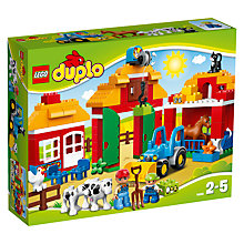 Buy LEGO DUPLO Big Farm Bundle With Free Duplo Snail Online at johnlewis.com