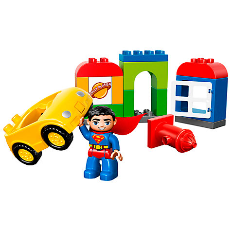 Buy LEGO DUPLO Superheroes Superman Rescue Online at johnlewis.com