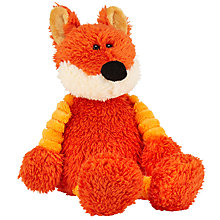 Buy John Lewis Plush Fox, 19cm Online at johnlewis.com