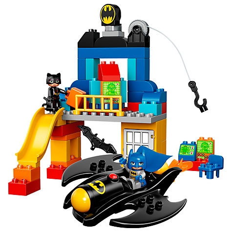 Buy LEGO DUPLO Superheroes Batcave Adventure Online at johnlewis.com
