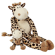 Buy John Lewis Dangling Giraffe Soft Toy Online at johnlewis.com