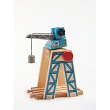 Buy John Lewis Wooden Crane Playset Online at johnlewis.com