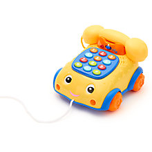 Buy John Lewis Talk And Pull Phone Online at johnlewis.com