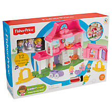 Buy Exclusive Fisher-Price Little People Happy Sounds Home Pack - Contains 2 Additional Little People Figures Online at johnlewis.com