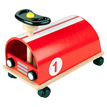 Buy Pintoy Ride On Racer, Red Online at johnlewis.com