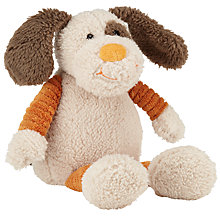Buy John Lewis Plush Dog, 19cm Online at johnlewis.com