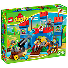 Buy LEGO DUPLO Big Royal Castle Online at johnlewis.com