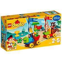 Buy LEGO DUPLO Jake and the Neverland Pirates Beach Racing Online at johnlewis.com