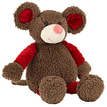 Buy John Lewis Plush Mouse, 19cm Online at johnlewis.com
