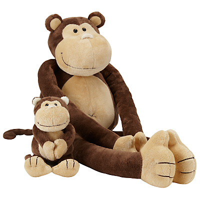 John Lews Dangling Monkey Soft Toy
