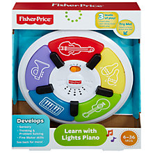 Buy Fisher-Price Learn With Lights Piano Online at johnlewis.com