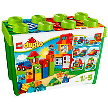 Buy LEGO DUPLO Deluxe Box Of Fun Bundle with Free Duplo Snail Online at johnlewis.com