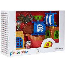 Buy John Lewis Pirate Ship Playset Online at johnlewis.com