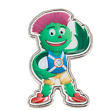 Buy Glasgow 2014 Commonwealth Games Mascot Magnet, Green Online at johnlewis.com