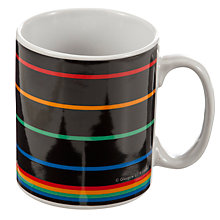 Buy Glasgow 2014 Commonwealth Games Logo 11oz Mug, Black Online at johnlewis.com