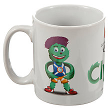 Buy Glasgow 2014 Commonwealth Games Clyde Mascot 11oz Mug, White Online at johnlewis.com
