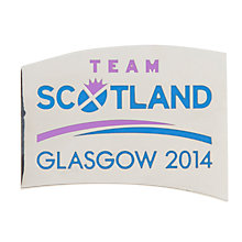 Buy Glasgow 2014 Commonwealth Games Team Scotland Magnet Online at johnlewis.com