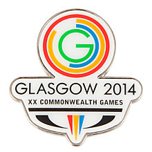 Buy Glasgow 2014 Commonwealth Games Logo Magnet, White Online at johnlewis.com