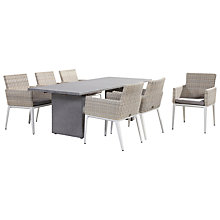 Buy 4 Seasons Outdoor Lazio Dining Table and 6 Riviera Seats Online at johnlewis.com
