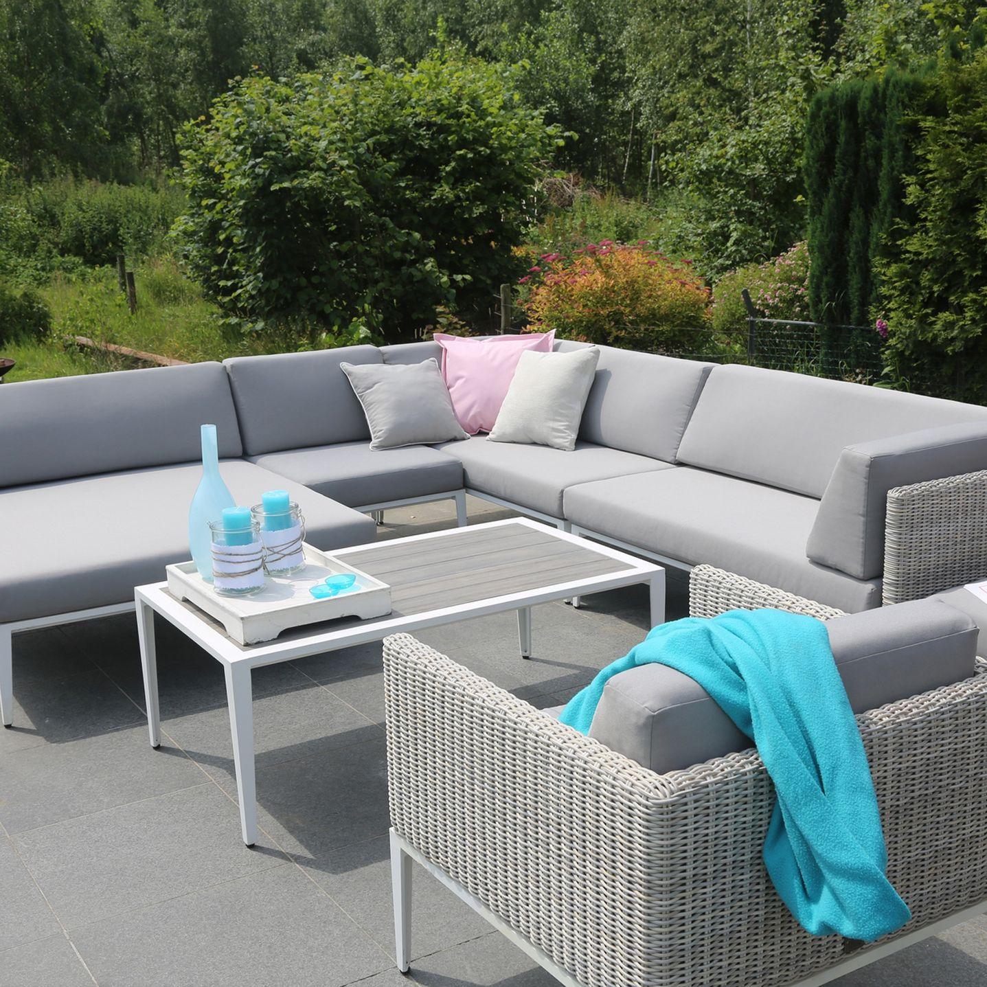 4 Seasons Outdoor Riviera 8-Seater Lounge Set