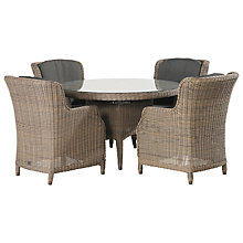 Buy 4 Seasons Outdoor Victoria Table and 4 Brighton Chairs Online at johnlewis.com