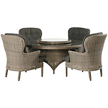 Buy 4 Seasons Outdoor Victoria Dining Table and 4 Buckingham Seats Online at johnlewis.com