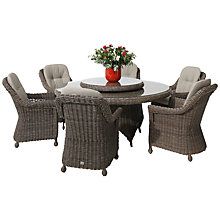 Buy 4 Seasons Outdoor Madoera 6-Seater Dining Set Online at johnlewis.com