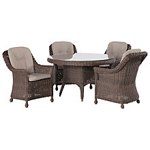 Buy 4 Seasons Outdoor Madoera 4-Seater Dining Set Online at johnlewis.com