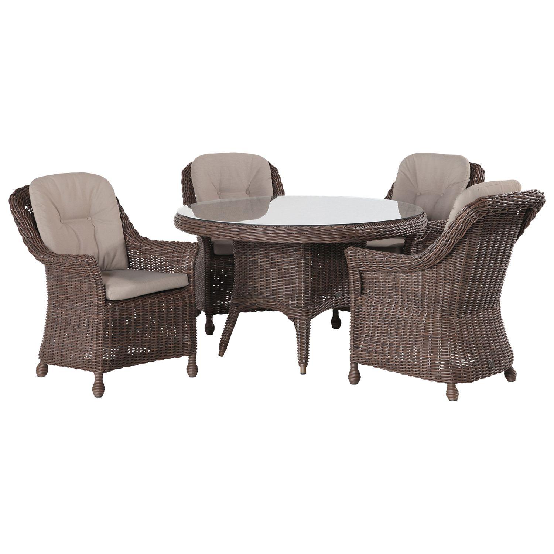 4 Seasons Outdoor Madoera 4-Seater Dining Set