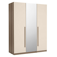 Buy House by John Lewis Mix it Block Handle Bedroom Range, House Putty/Grey Ash Online at johnlewis.com