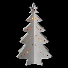 Buy John Lewis Wooden Colour Changing Tree, White/Multi Online at johnlewis.com