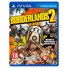 Buy Borderlands 2, PS Vita Online at johnlewis.com